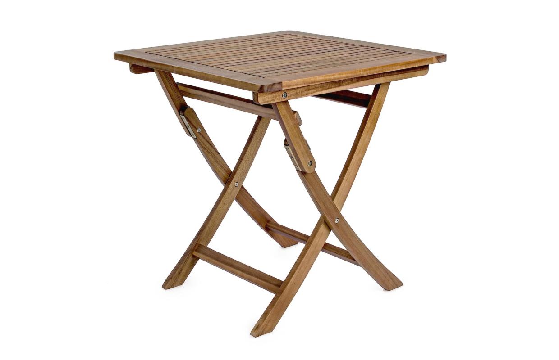 Tavoli Da Giardino Pieghevoli In Legno.Tavolo In Legno Pieghevole Giardino Richiudibile Esterno 70x70